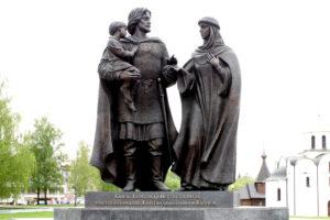 памятник Александру Невскому. Витебск