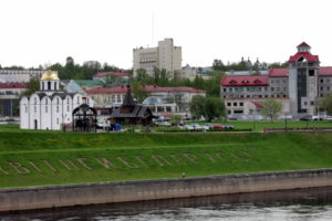 площадь Тысячелетия Витебска.